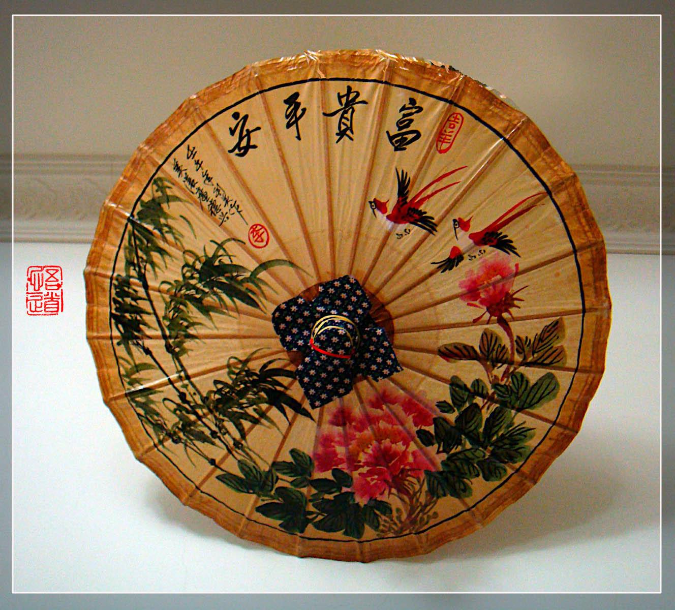 中国风 油纸伞